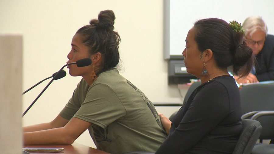VIDEO: Wahine On Front Line Support TMT Moratorium