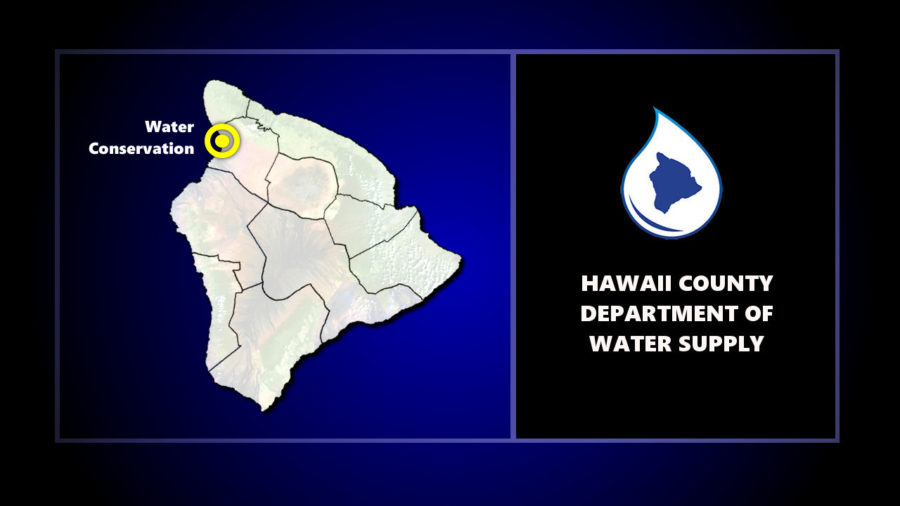 Water Conservation Notice For Area Of Kohala Coast