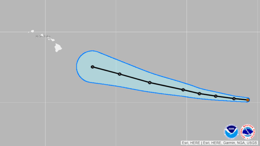 Tropical Storm Erick Forms, System Could Approach Hawaii Next Week