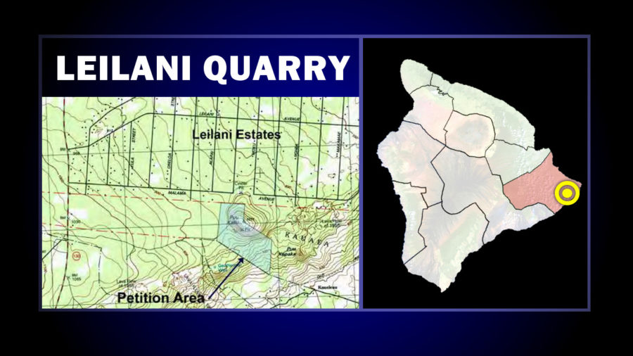 Expanded Leilani Quarry Operation Sought, EIS Underway