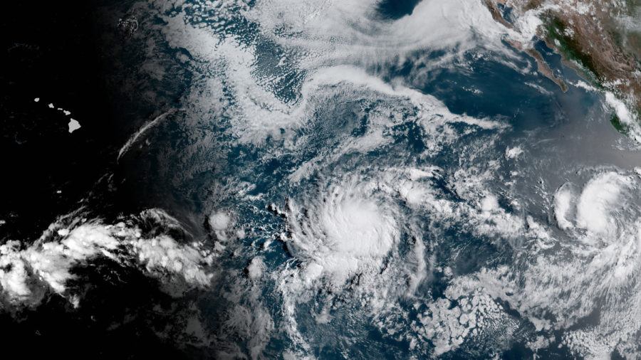 As Tropical Storm Erick Strengthens, New System Forming Behind It