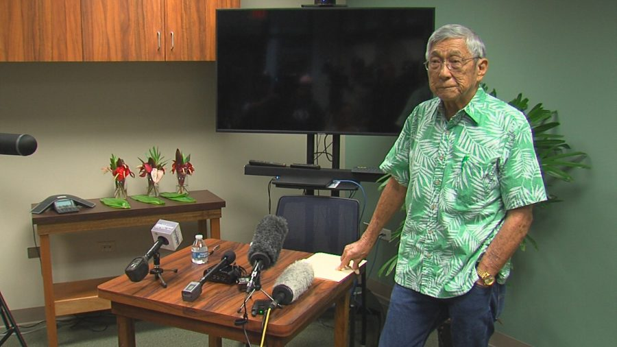 VIDEO: Mayor Kim Holds Press Conference – Mauna Kea Day 15