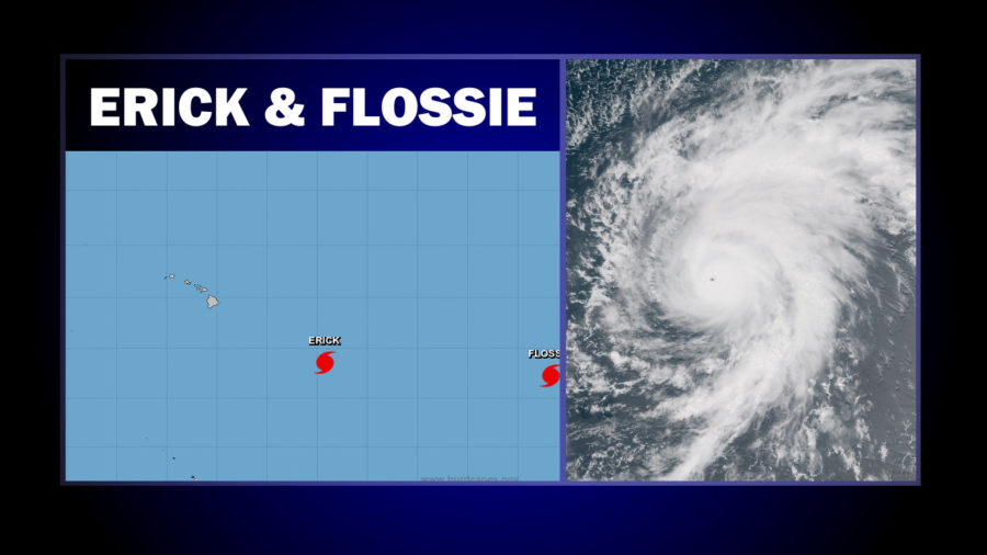 11 am: Hawaii Says Be Prepared As Flossie Becomes Hurricane, Erick Intensifies