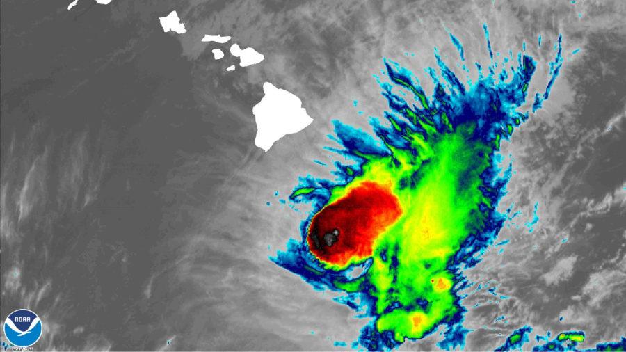 Erick Weakens To Tropical Storm, Heavy Rain Expected Tonight