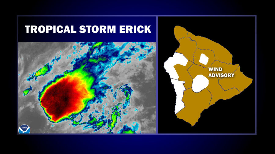 Tropical Storm Erick Passes By, Flash Flood Watch Lifted