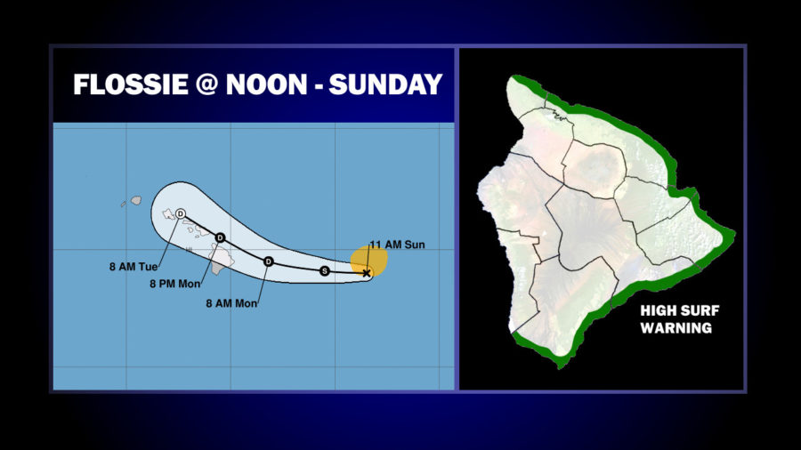 Flossie Could Hit Hawaii As Tropical Depression
