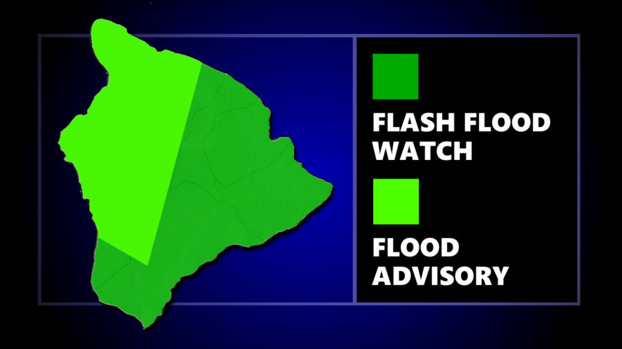 Flood Advisory Issued For West Hawaii