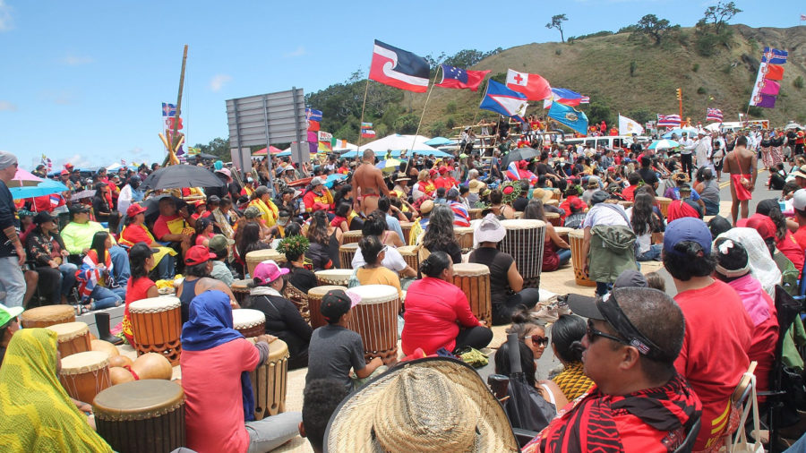 Thousands Jam On Mauna Kea Over Weekend