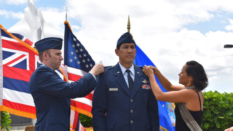 Kahele Promoted, Gabbard Leaves For Active Duty
