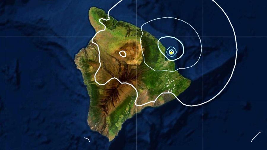 4.5 Earthquake Rattles East Hawaii Monday Morning