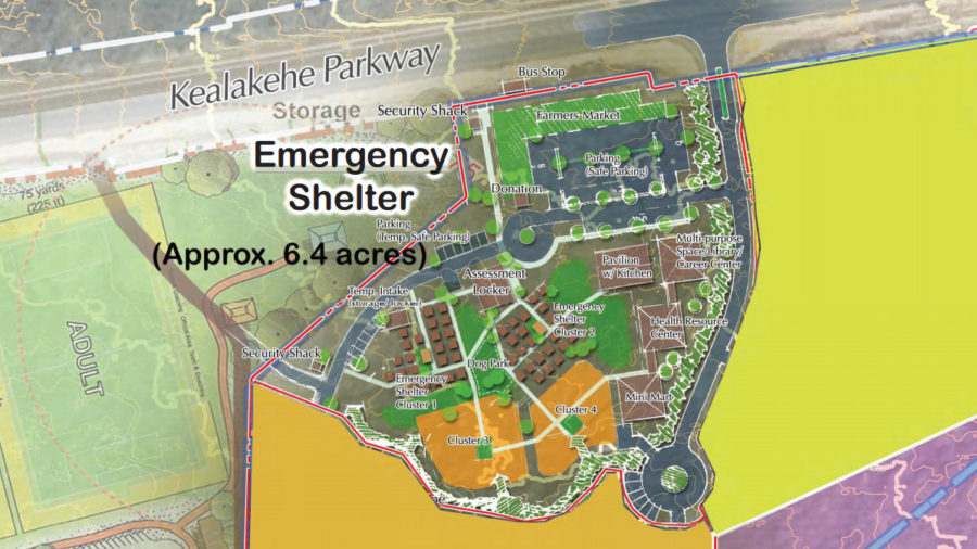 Kona Emergency Homeless Shelter, Housing Project Draft EA Published