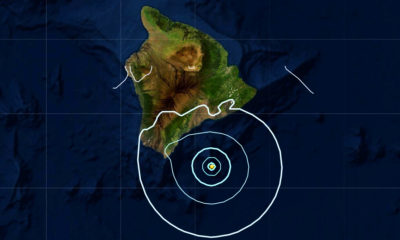4.2 Earthquake Off Kaʻū, Near Loihi Seamount, Shakes Hawaiʻi