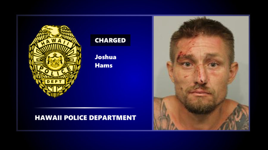 "Kona Man Charged After ""Crime Spree"", Police Release Timeline"