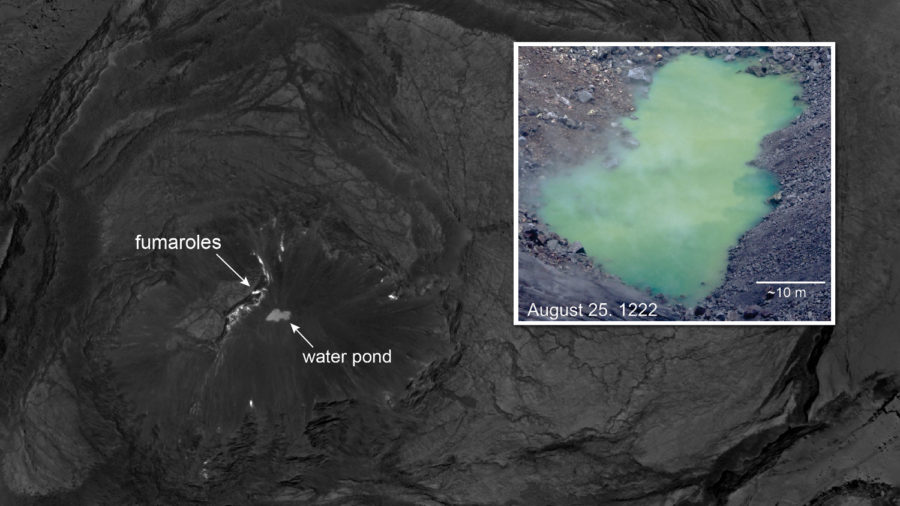 Kilauea Water Pond Watched, Mapped By Scientists