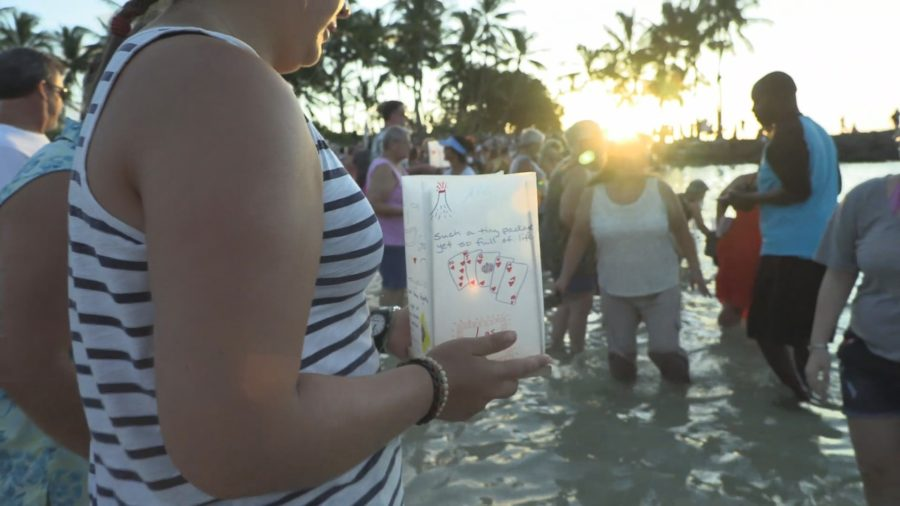 VIDEO: North Hawaii Hospice Lantern Floating At Fairmont Orchid