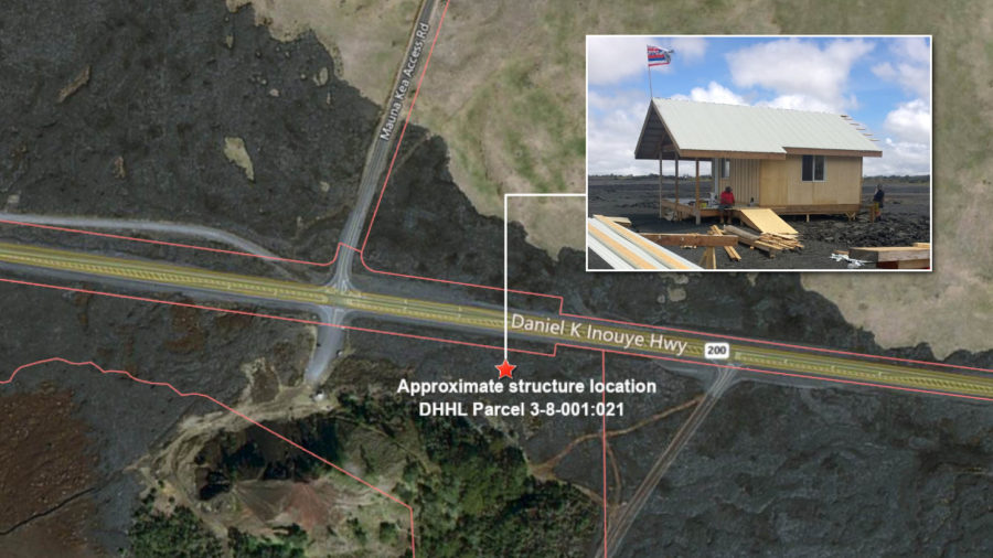 DHHL Says It Will Remove Structure Near Puuhuluhulu When Resources Are Available