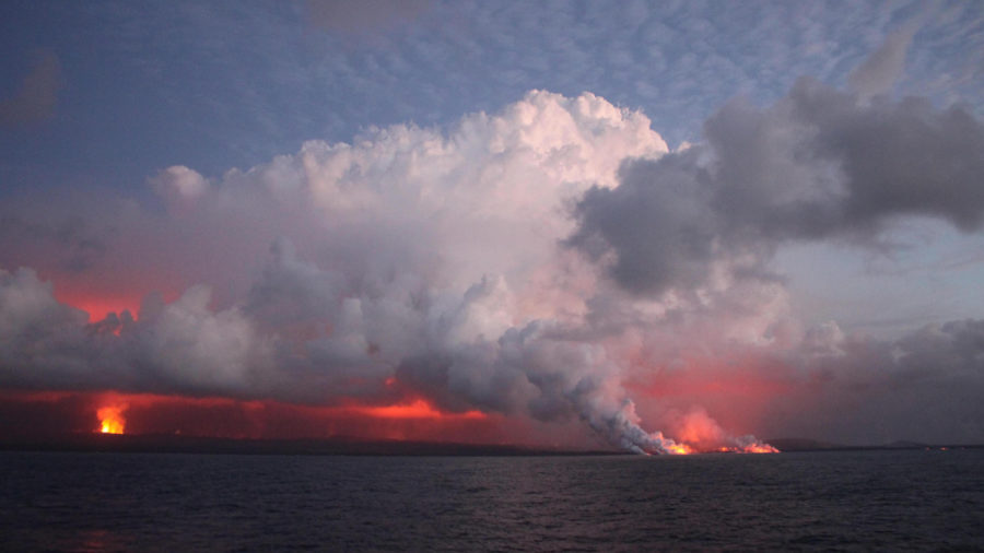 After Lava Fueled Phytoplankton Study, Kilauea Water Pond Eyed