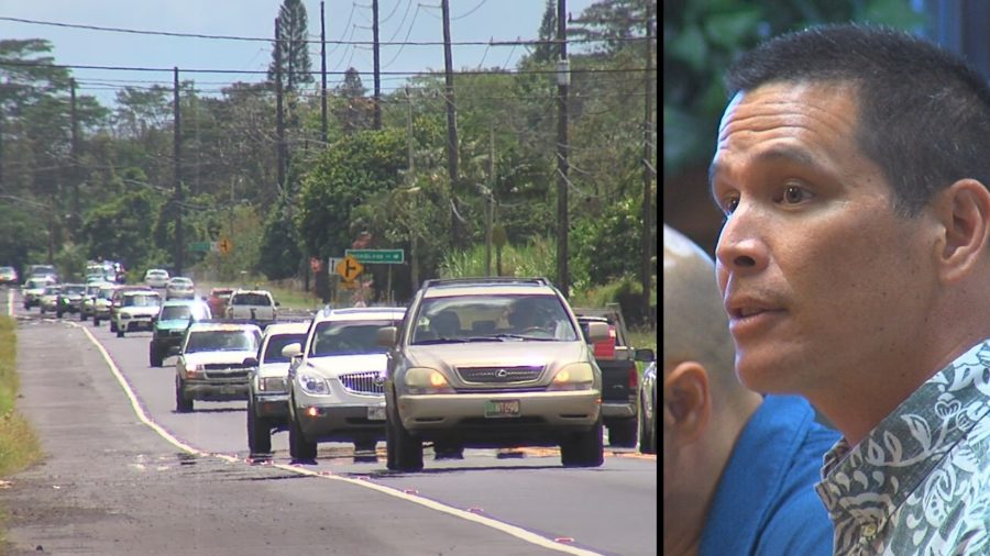 "VIDEO: Highways Administrator Apologizes For Puna ""Carmegeddon"""