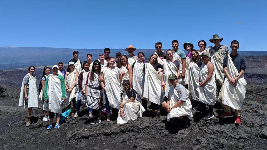 Hawaii Volcanoes Celebrates 10th Youth Ranger Program