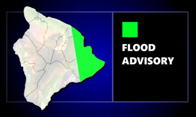 Flood Advisory For East Hawaii