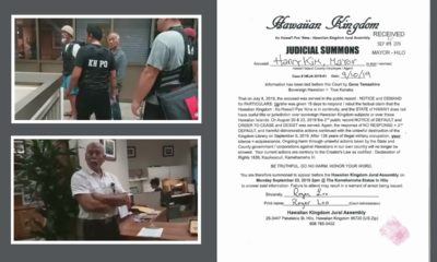 "Mayor Served ""Judicial Summons"" By Group, ""Arrest Warrants"" Threatened"