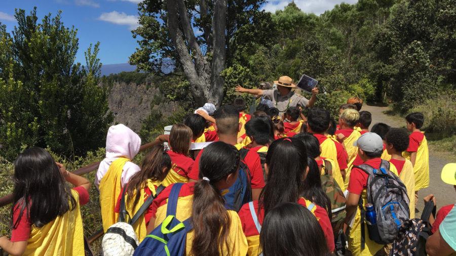 Complete Change At Kilauea Volcano Focus Of 4th Grade Educational Curriculum