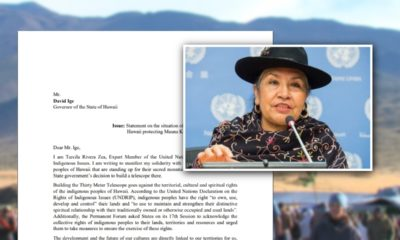 United Nations Indigenous Issues Expert Pens Letter To Governor About Mauna Kea