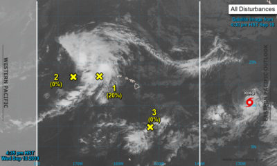 Tropical Storm Kiko Expected To Become A Hurricane Again