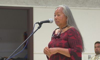 VIDEO: Noe Noe Wong-Wilson Reminds OHA State Closed Mauna Kea