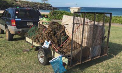 International Coastal Cleanup Day On Kohala Coast