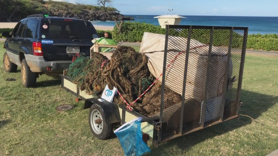 International Coastal Cleanup Day On Kohala Coast