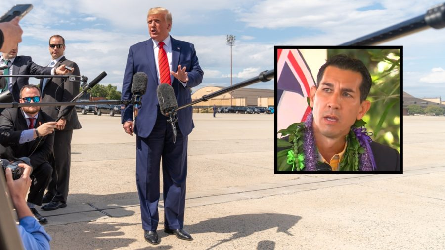 Kahele Differs From  Gabbard On Trump Impeachment