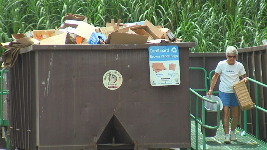 VIDEO: Paper, Plastic No Longer Being Recycled On Hawaii Island