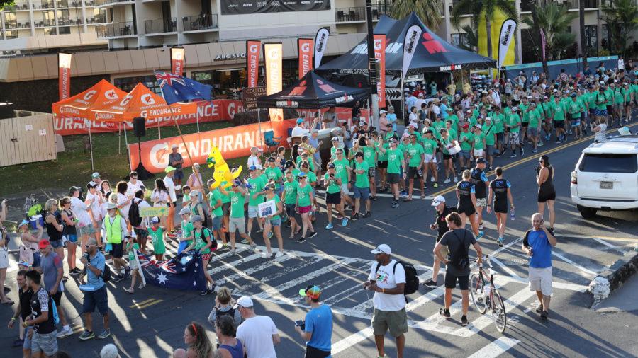 Ironman Events In Kona Begin With Parade, Keiki Dip-n-Dash