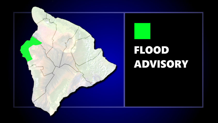 Flood Advisory Issued For Kailua-Kona Friday Night