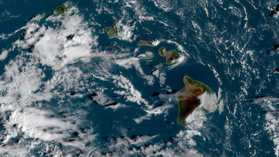 Above Average Rainfall For Hawaii Projected In Coming Wet Season