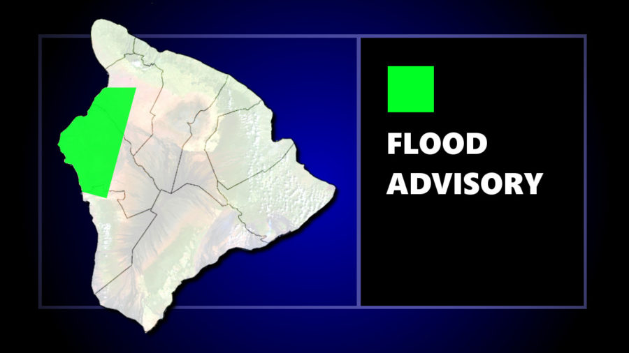 Flood Advisory Issued For Area Of Kona