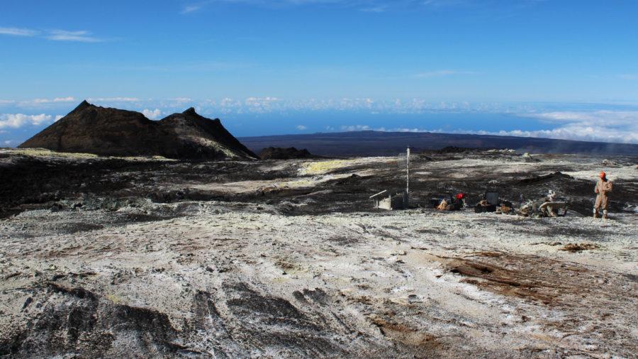 VOLCANO WATCH: High Altitude Station Maintenance On Mauna Loa