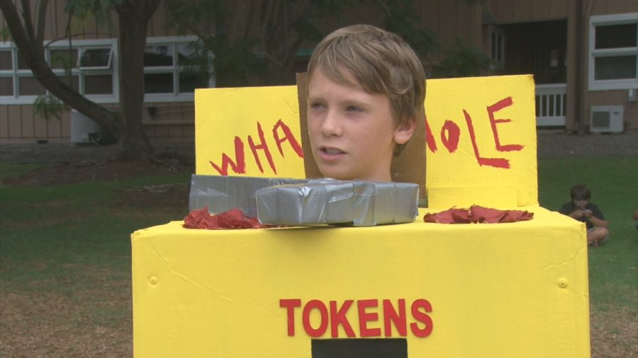 VIDEO: Whack-A-Mole Wins Waimea Costume Contest