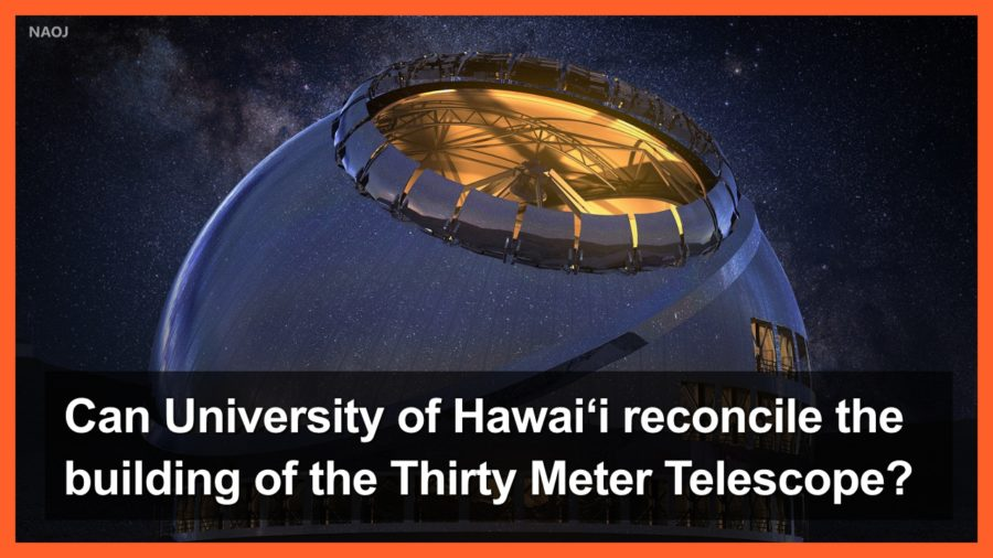 VIDEO: Can UH Reconcile Building Of TMT, Provost Asks