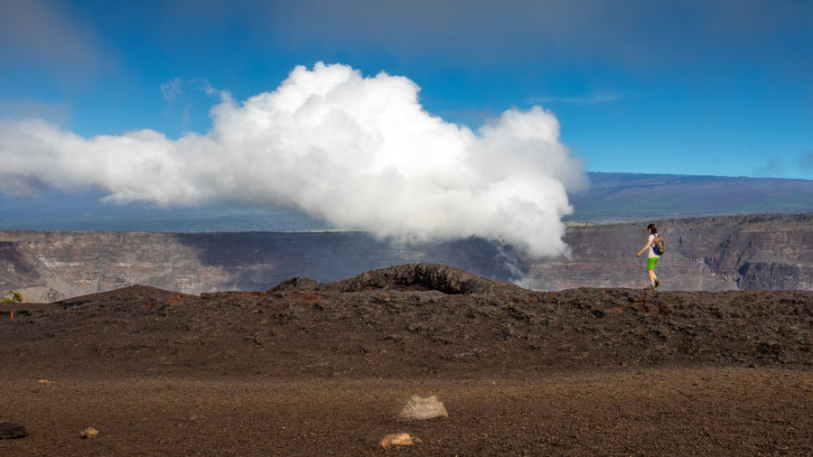 Hawaii Volcanoes National Park Flight Operations For November