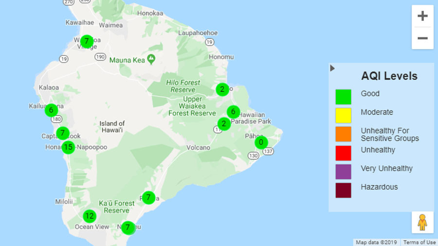 VOLCANO WATCH: Ambient Air Quality Data Website Updated