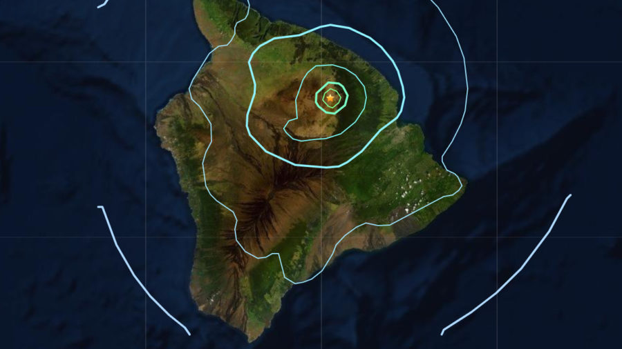 4.9 Earthquake On Mauna Kea Rattles Hawaii