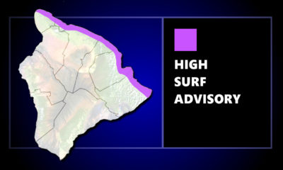 High Surf Advisory Issued For North Shores Of Hawaii