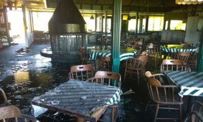 Fire Damages Volcano Golf and Country Club