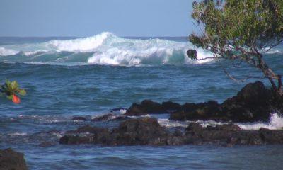 VIDEO: High Surf Prompts Keaukaha Closures