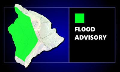 Flood Advisory Issued For Kona Side Of Hawaii Island