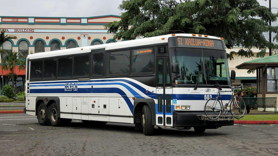 Feds Fund 10 New Buses For Hawaii Island