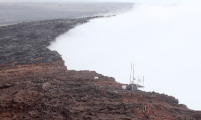 Collapsing Puʻu ʻOʻo Rim About To Claim Monitoring Equipment