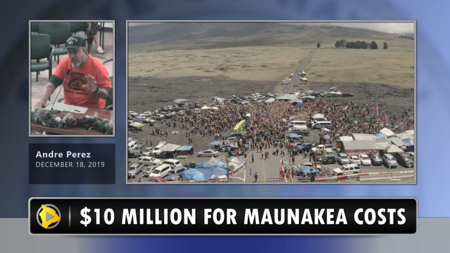 VIDEO: Council Votes Down $10 Million State Grant For Maunakea Costs